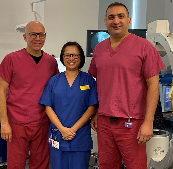 At the Bristol Urological Institute with Dr Tal Jabbar (Urologist) training for Video Urodynamics and outpatient Neurosacral Modulation. Thank you for teaching and sharing your knowledge