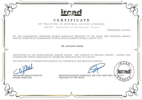 certificates awards