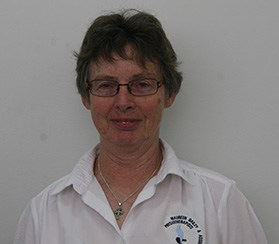 Physiotherapist Maureen Bailey
